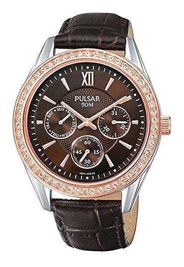 Pulsar Night Out Pp6008 - Reloj De Cuarzo Para Mujer