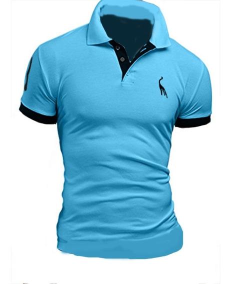 Camisetas Polo, Manga Corta, Informales, Para Caballeros