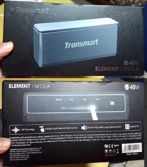 Caixa De Som Tronsmart 40w Rms