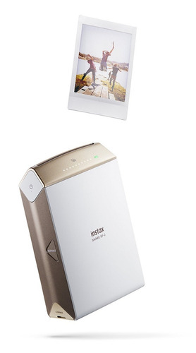 Imagen 1 de 10 de Impresora Smart Fujifilm Instax Para Smartphones Tablet Gold