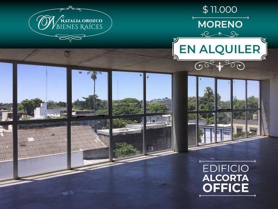 Oficina Comercial En Alquiler/ Apto Profesional/ - Moreno Centro- Edificio Alcorta Office