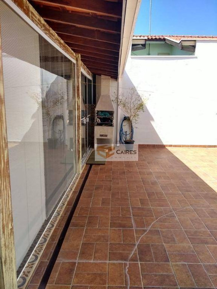 Casa Com 2 Dormitórios À Venda, 160 M² Por R$ 450.000 - Vila Teixeira - Campinas/sp - Ca2646