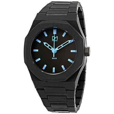 D1 Milano Polycarbon Black Dial Reloj Para Hombre A-ne01