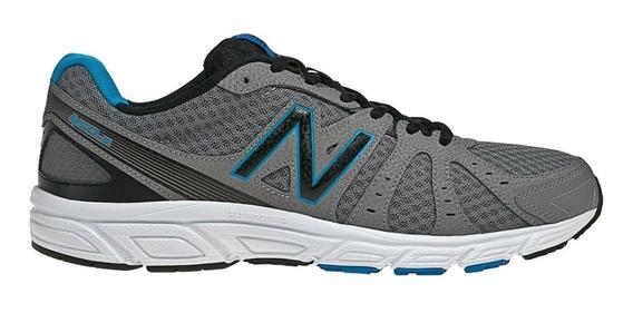 Tenis New Balance 450 V2 Gris Azul Correr Deportivo 25 Mx