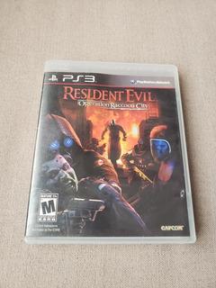 Resident Evil Operation Raccoon City Para Ps3 Playstation 3