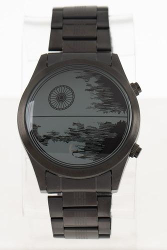 Relógio Digital Masculino Star Wars Estrela Da Morte