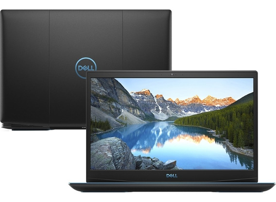 Notebook 15,6pol Dell Gaming G3 3590-a30p (core I7 9750h, 8g