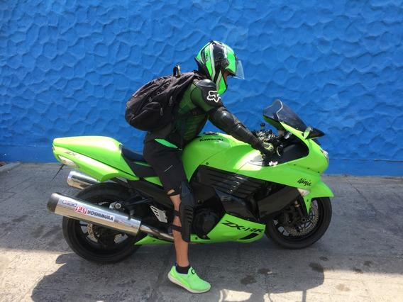 Moto Kawasaky Zx-14r Verde