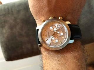 Relógio Bulova Pulseira Em Couro 98a141