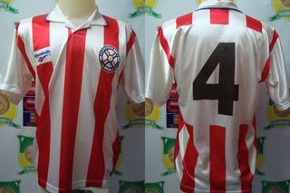 Camisa Futebol Seleção Paraguai Reebok # 4 Anos 90