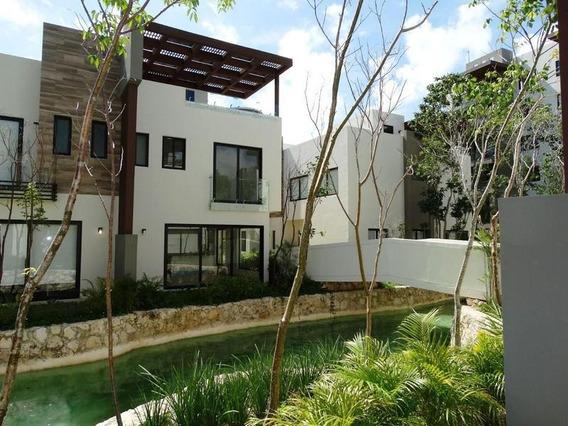 Casa Villa De 3 Recámaras, Roof Garden, Jacuzzi En Lagunas De Ciudad Mayakobà, Playa Del Carmen