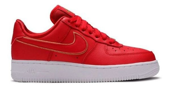 Zapatillas Nike Air Force 1 De Mujer Red Wr 63