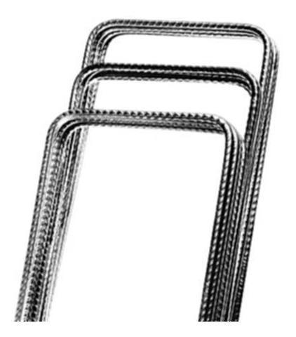 Estribo 7x22cm - 200pçs - Arcelormittal