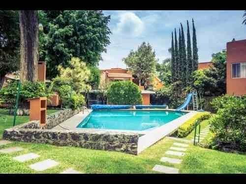 Casa En Condominio Con Alberca En Acapatzingo, Cuernavaca