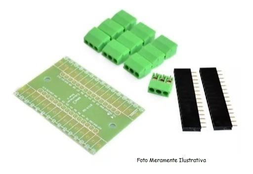 Adaptador Nano Shield Para Arduino Nano Com Terminais - Diy