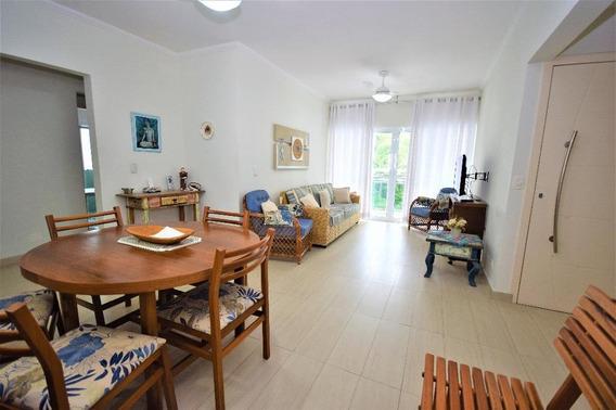 Apartamento Em Praia Das Pitangueiras, Guarujá/sp De 100m² 3 Quartos À Venda Por R$ 552.000,00 - Ap413434
