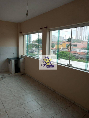 Imagem 1 de 10 de Casa Para Alugar, 150 M² Por R$ 1.800/mês - Matriz - Mauá/sp - Ca0270