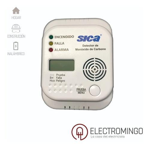 Sensor Detector De Monóxido De Carbono Sica Display Lcd