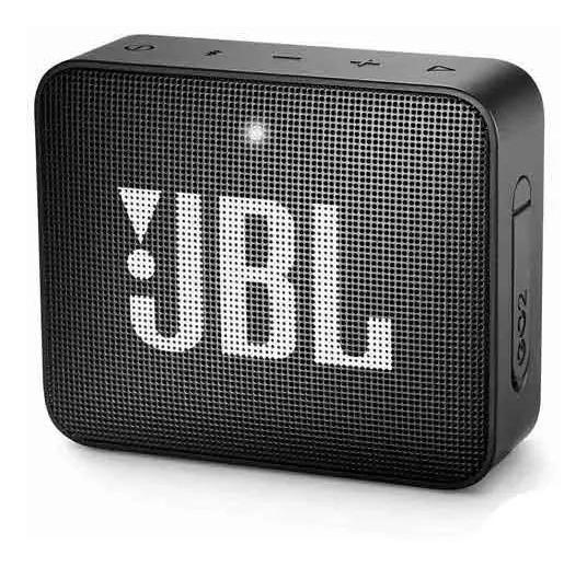 Caixa Bluetooth Jbl Go2 Preta Original Potência De 3 W - Jbl