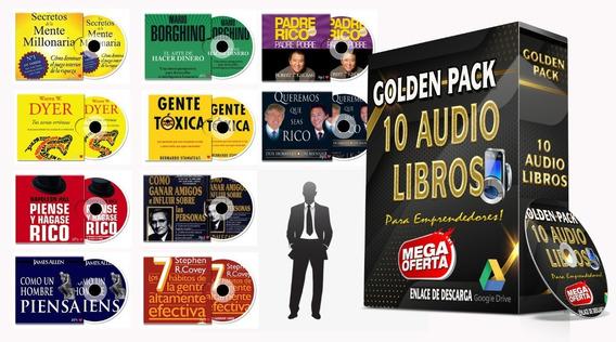 Audiolibros Golden Pack (10) Mp3