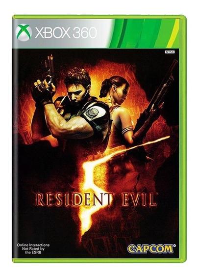 Resident Evil 5 - Xbox 360 - Usado - Original