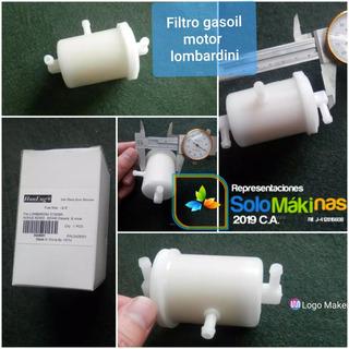 Filtro De Gasoil Para Motores Lombardini