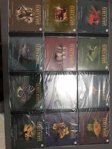 Enciclopédia Multimídia Dos Seres Vivos,12 Vols Em Cds.