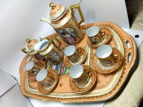 Relíquia: Jogo De Café Em Porcelana Da Época Do Império!