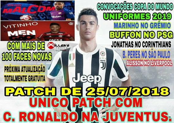 Patch Pes 2018 Ps3 C. Ronaldo Na Juventus Uniformes 2019