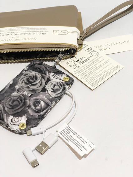 Billetera De Mujer Con Cargador 5826