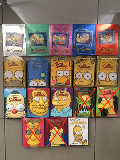 Lote Colección Temporadas Simpsons Ediciones Limitadas