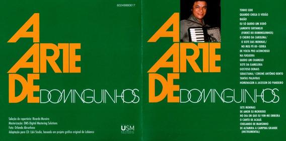 Cd Dominguinhos A Arte De 2005 Novo