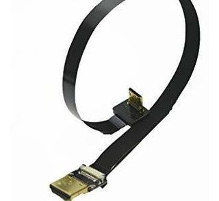 Negro 30 Cm Fpv Cable Hdmi Mini Hdmi Interfaz De Sexo Mascul