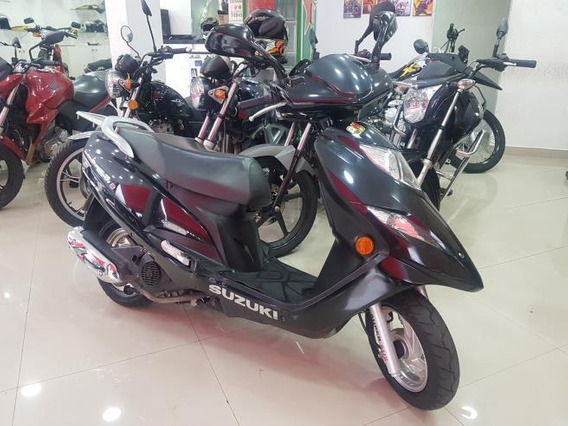 Suzuki Burgman 125i 2013 Preta 27000 Km