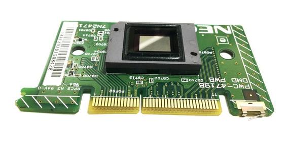 Chip Dmd + Dlp + Thermo Para Projetor Nec Np115 - Novo!