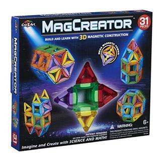 Cra-z-art 31 Pc Magcreator Set Juguetes De Construccion Y Ap