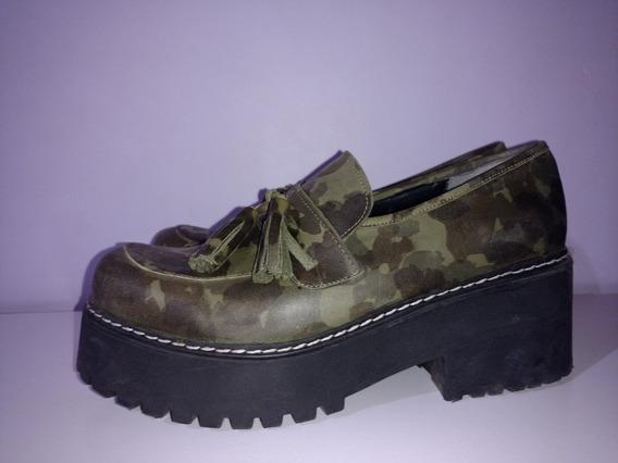 Zapatos Mocasín Mary Joe Camuflados