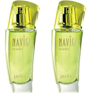 Jafra Navigo Femme Original Set De 2 Perfumes