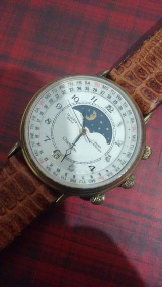 Relogio Champion Lunar Calendar