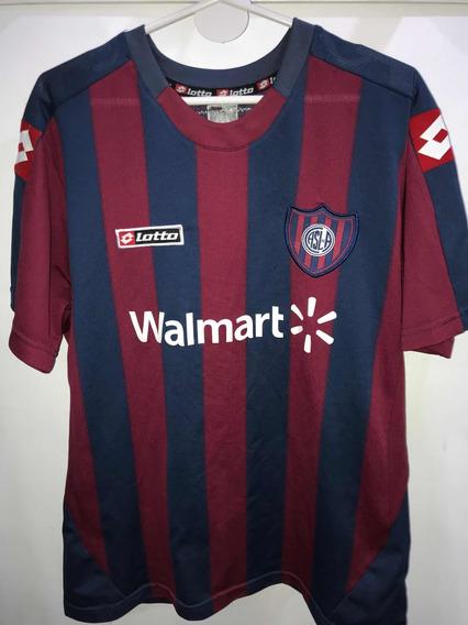 Camiseta De San Lorenzo 2010 Utileria 22 Loco Migliore