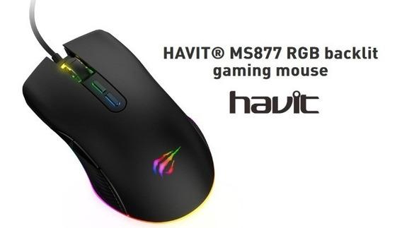Mouse Gamer Havit Hv-ms877 Com Rgb