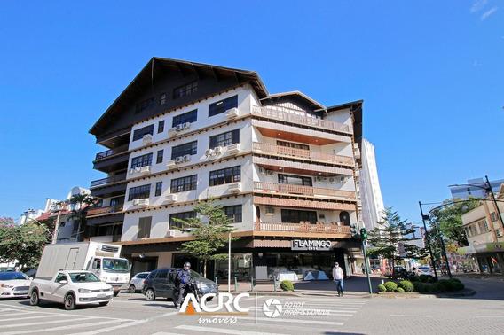 Acrc Imóveis - Ampla Sala Comercial Com Sacada Para Venda No Bairro Centro - Sa00602 - 68076885