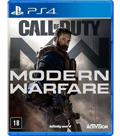 Game - Call Of Duty: Modern Warfare - Ps4 Mídia Física