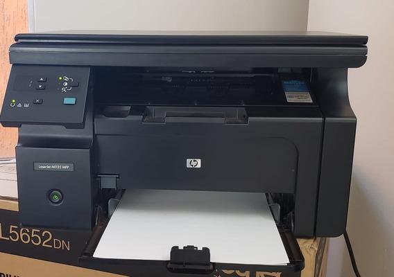 Impressora Multifuncinal Laserjet Hp M1132 Semi Nova