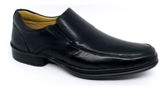 Sapato Social Rafarillo Tradicional Couro Conforto Ref 9231