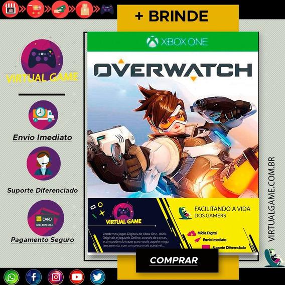 Overwatch- Jogo Xbox One - Midia Digital - Max 10/pessoas