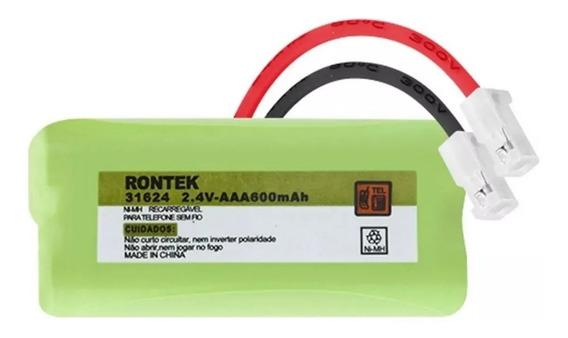 Pilhas P/ Telefone S/ Fio 2xaaa 2,4v 600mah Ni-mh Rontek