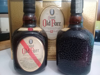 Whisky Old Parr 12 Años Botella 0.75 Ml
