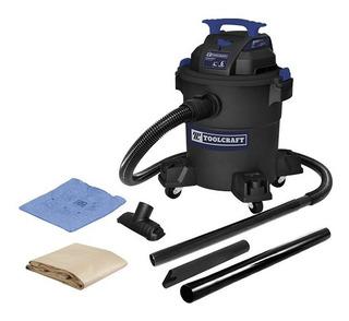 Aspiradora De Sólidos Y Líquidos 6gal 4hp Toolcraft Tc4184
