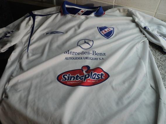 Camiseta Umbro Club Nacional De Futbol Montevideo Uruguay
